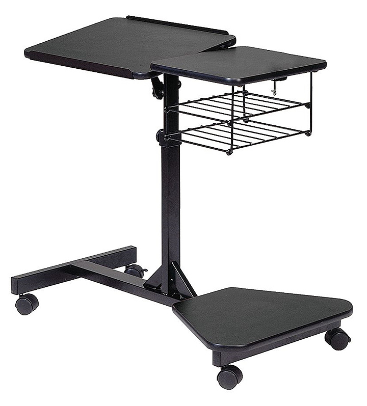 staples rolling laptop stand