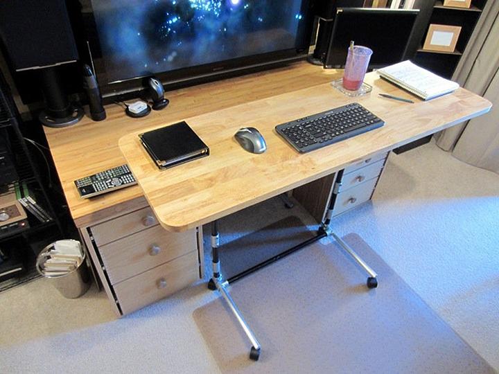 adjustable desktop ipad stand