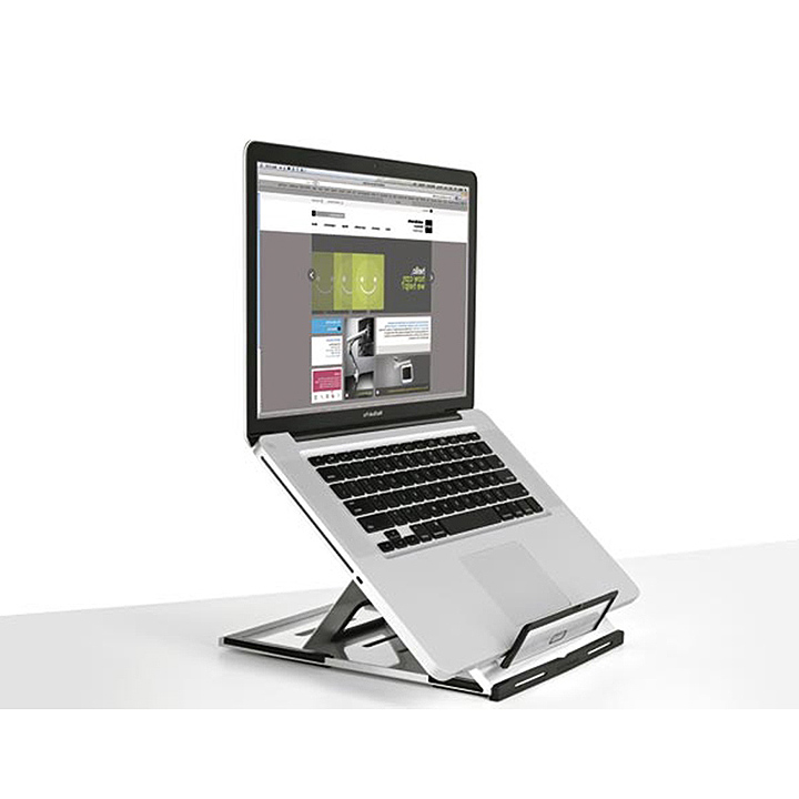 plastic laptop stand for desk
