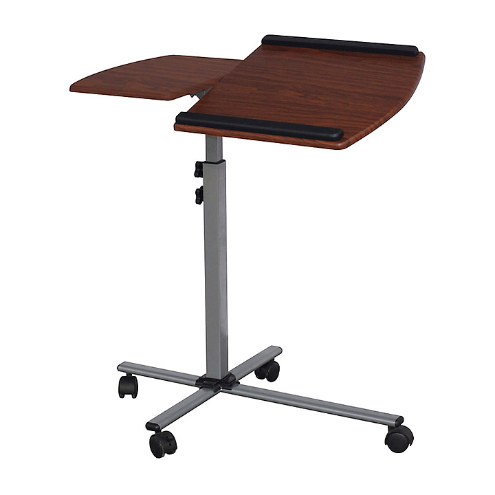split top mobile laptop cart