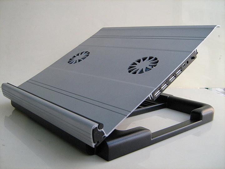 swivel arm laptop stand