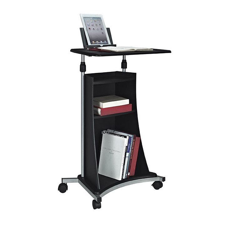 techni mobili mobile laptop cart graphite