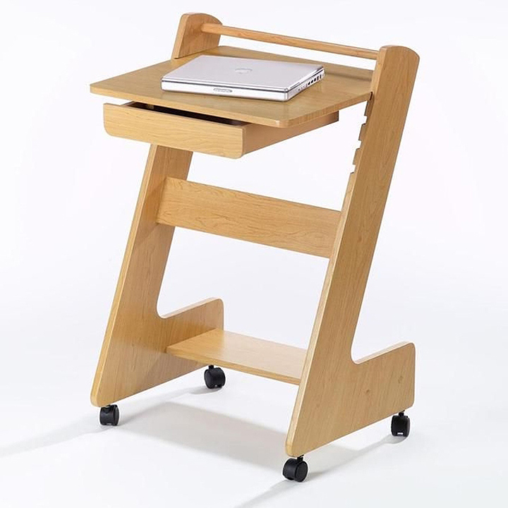 z mobile workstation rolling laptop desk