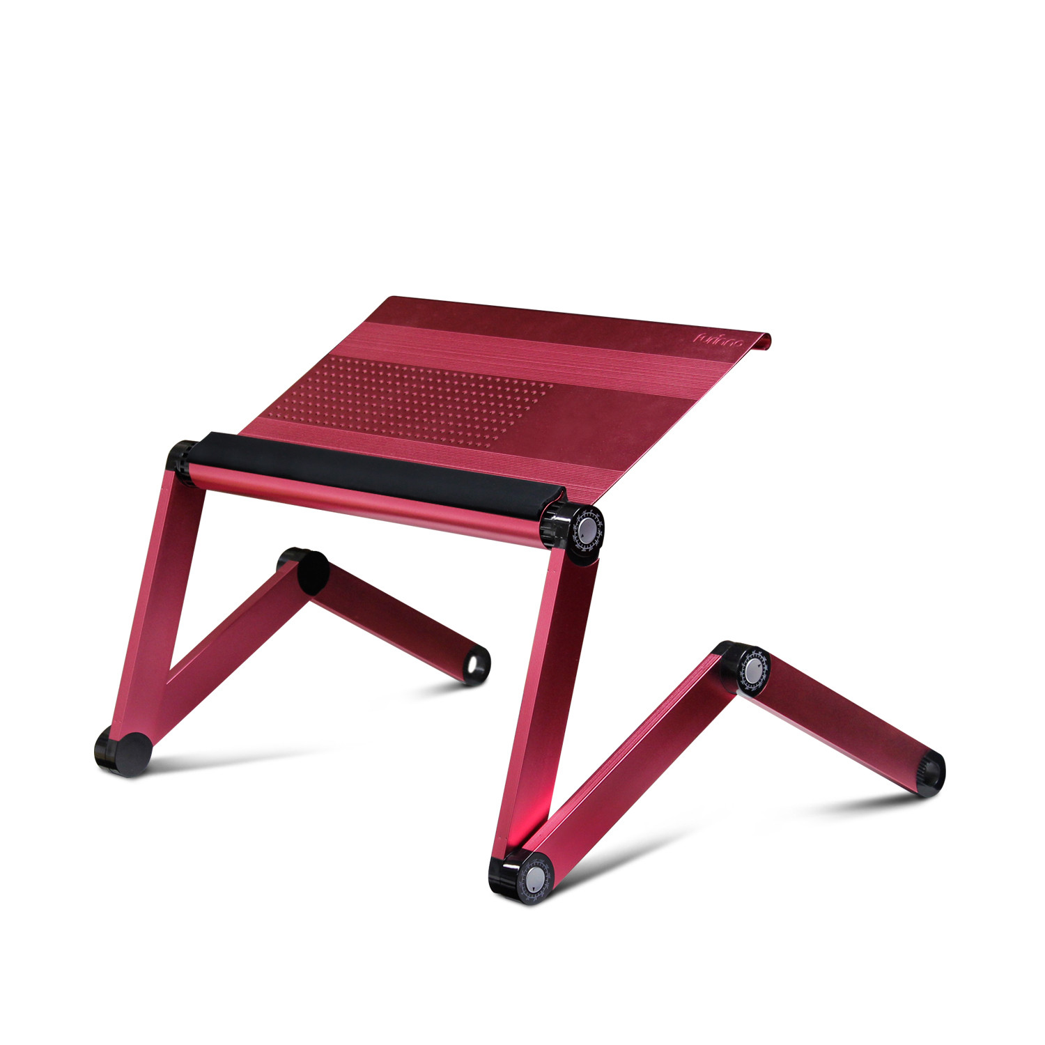 Adjustable laptop stand for bed