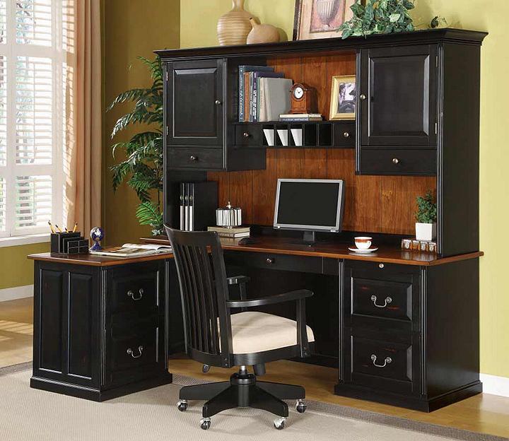 Corner computer desk tall