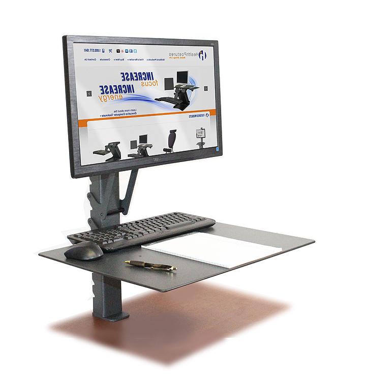 Desktop computer riser stand
