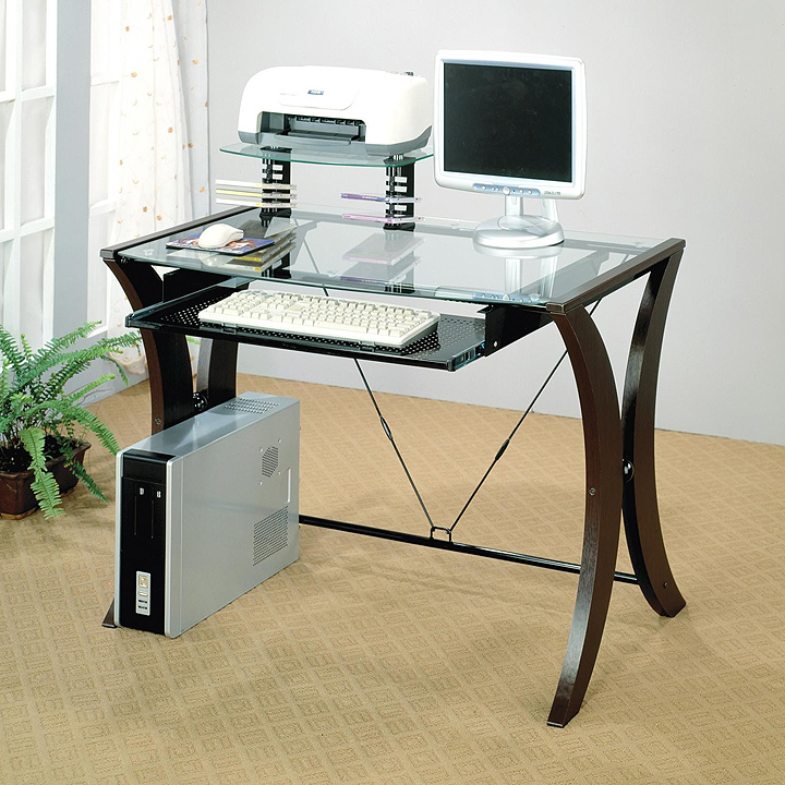 Glass desks for office