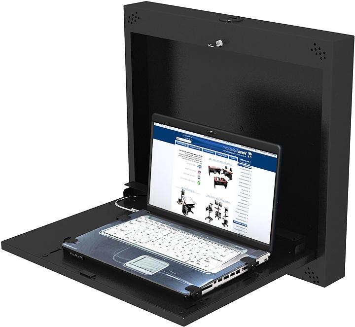 wall mounted laptop desk. mount laptop to desk wall mounted