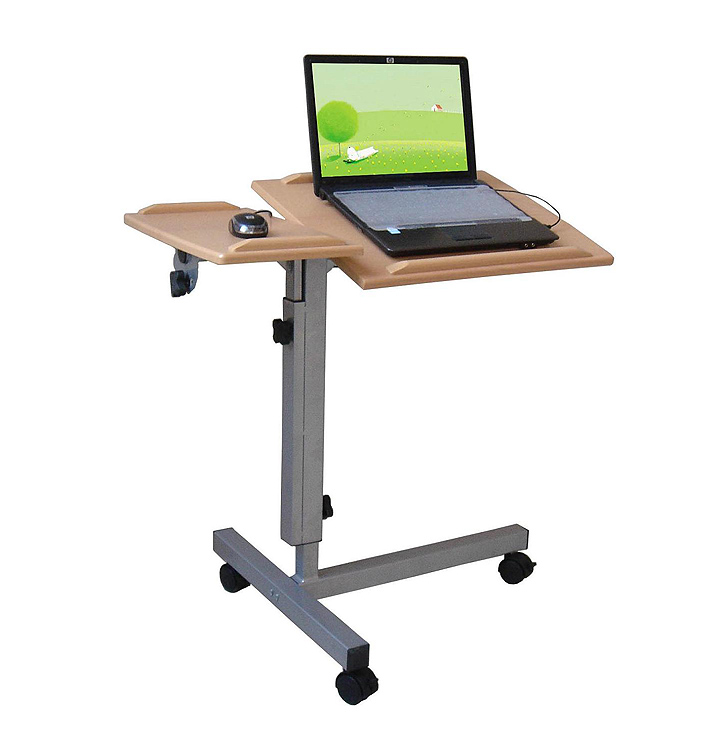 Portable computer work table