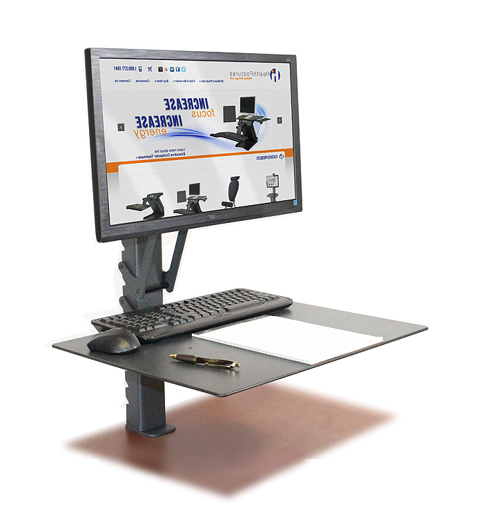 Sit and stand office desk