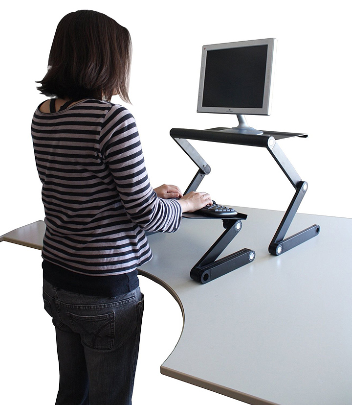 Sit down and stand up desk
