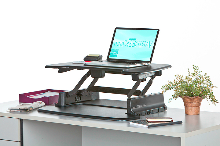 Sit stand desk options