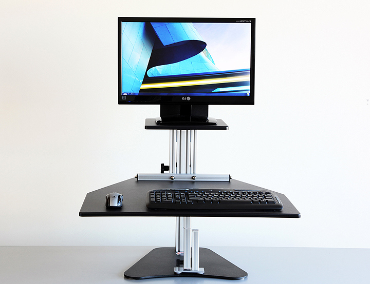 Sit Stand Desk Relax The Back Review And Photo