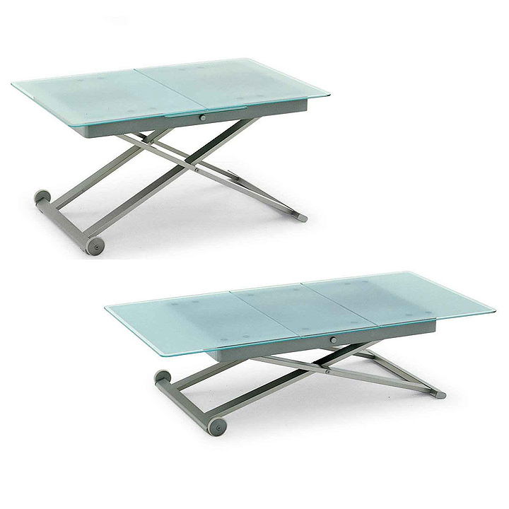 Small adjustable laptop table