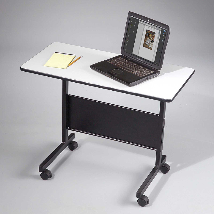 Small laptop computer table