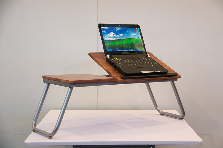 Small table for laptop
